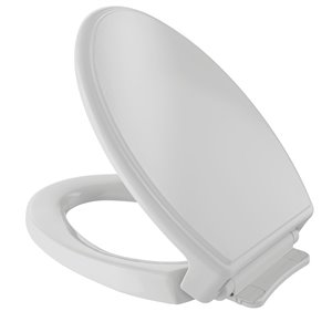 TOTO Traditional SoftClose Elongated Toilet Seat and Lid - Colonial White