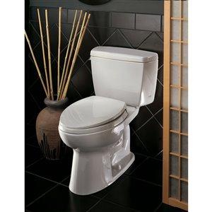 TOTO Drake Elongated Toilet - Standard Height -  Cotton White