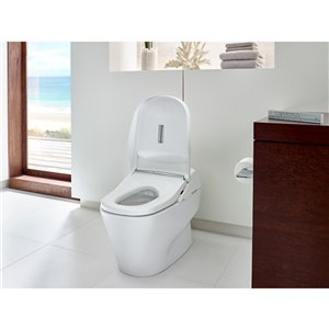 TOTO Neorest Elongated Toilet - Standard Height -  Cotton White