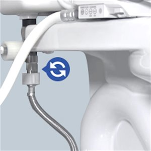 TOTO Washlet Connection Adapter Kit for In-Wall Tank System
