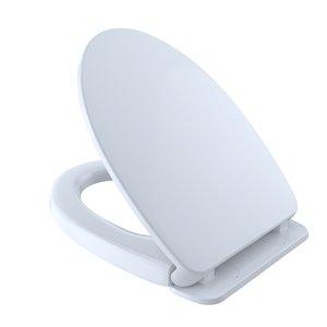 TOTO SoftClose Elongated Toilet Seat - Cotton White