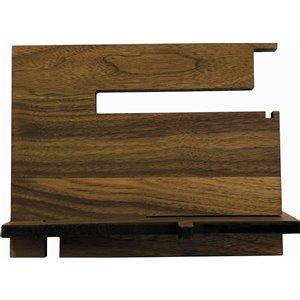 McNeil Decorative Desk organizer in Black Walnut