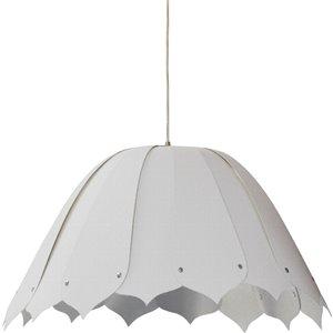 Dainolite Noa Pendant Light - 1-Light - 21-in x 10-in - Polished Chrome and White