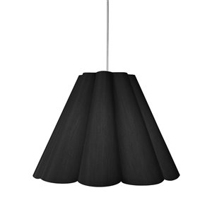 Dainolite Kendra Pendant Light - 4-Light - 33-in x 25-in - Polished Chrome/Black