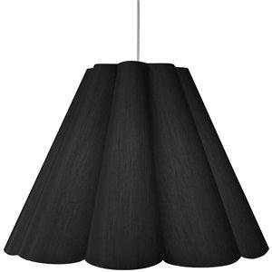 Dainolite Kendra Pendant Light - 4-Light - 47-in x 35.5-in - Polished Chrome/Black