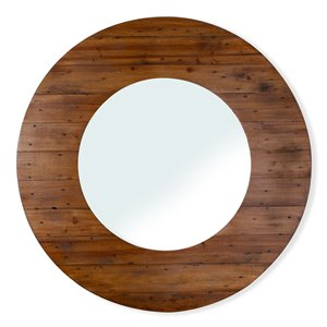 Gild Design House Portal Wood Mirror - Natural brown - 23-in x 40-in