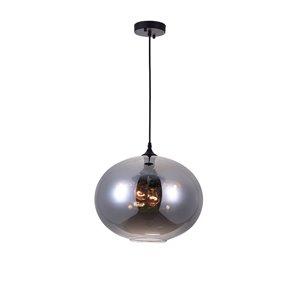 CWI Lighting Glass Pendant Light - 4-Light - Transparent Smoke