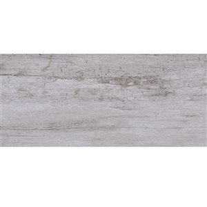 Mono Serra Porcelain Tile 7-in x 24-in Osaka Grigio 20.45 sq.ft. / case (17 pcs / case)