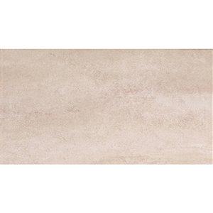 Mono Serra Ceramic Tile 8-in x 16-in Michigan Crema 11.20 sq.ft. / case (13 pcs / case)