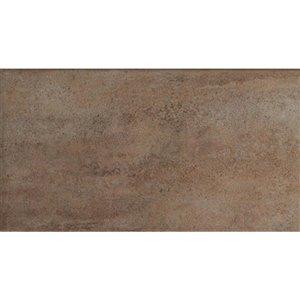 Mono Serra Ceramic Tile 8-in x 16-in Michigan Tabacco 11.20 sq.ft. / case (13 pcs / case)