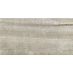 Mono Serra Porcelain Tile 12-in x 24-in Ghost Gray 16.04 sq.ft. / case (8 pcs / case)