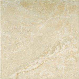 Mono Serra Ceramic Tile 13.4-in x 13.4-in Medea Beige 14.95 sq.ft. / case (12 pcs / case)