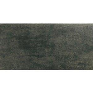 Mono Serra Porcelain Tile 12-in x 24-in Vega Nero 16.68 sq.ft. / case (8 pcs / case)