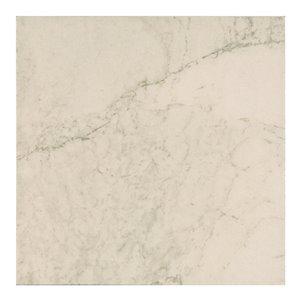 Mono Serra Ceramic Tile 13.4-in x 13.4-in Carrara 14.95 sq.ft. / case (12 pcs / case)