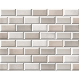 Mono Serra Ceramic Tile 4-in x 8-in Morthier Natural 10.76 sq.ft. / case (50 pcs / case)