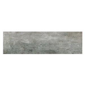 Mono Serra Porcelain Tile 7-in x 24-in Listello Tune Grigio 19.38 sq.ft. / case (16 pcs / case)