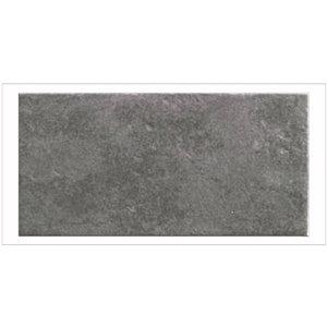 Mono Serra Porcelain Tile 3-in x 6-in Totem Nero 5.50 sq.ft. / case (44 pcs / case)