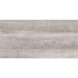 Mono Serra Porcelain Tile 12-in x 24-in Ghost Gray Lappato 13.99 sq.ft. / case (7 pcs / case)