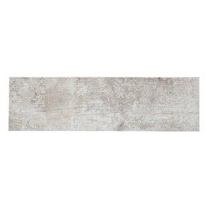 Mono Serra Porcelain Tile 7-in x 24-in Listello Tune Beige 19.38 sq.ft. / case (16 pcs / case)
