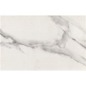 Mono Serra Porcelain Tile 15-in x 30-in Denali Blanco 11.95 sq. ft. / case (4pcs / case)