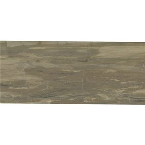 Mono Serra Porcelain Tile 16-in x 32-in J-Wood Noce Natural 10.33 sq.ft. / case (3 pcs / case)