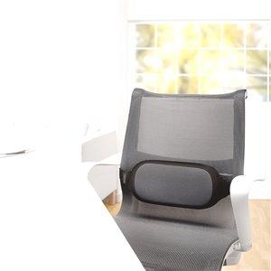 Fellowes I-Spire Series Lumbar Cushion - Gray
