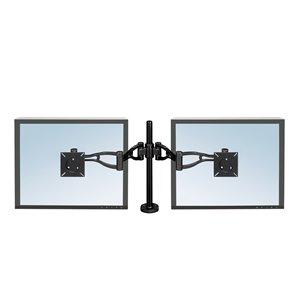 Fellowes Professional Series Depth Adjustable Dual Monitor Arm
