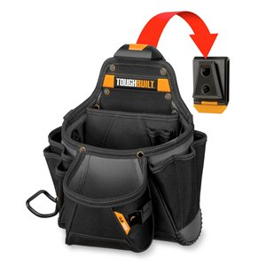 ToughBuilt Contractor Pouch - Black