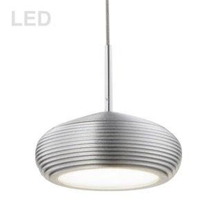 Dainolite Signature Pendant Light - 1-Light - 4.5-in x 3.5-in - Aluminum