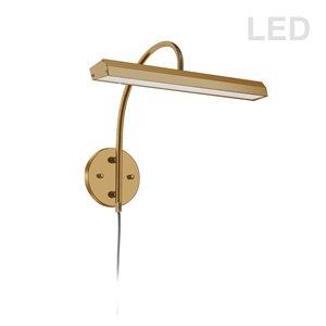 Dainolite Display Exhibit Picture Light - 24 Watts - 16.25-in - Aged Brass