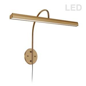 Dainolite Display Exhibit Picture Light - 30 Watts - 24.13-in - Aged Brass