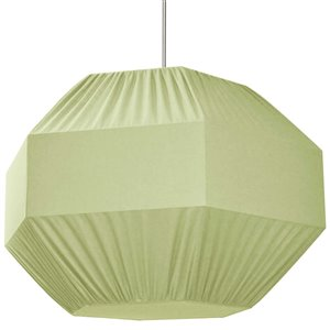 Dainolite Sage Pendant Light - 4-Light - 36-in x 24-in - Polished Chrome/Green