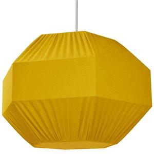 Dainolite Sage Pendant Light - 4-Light - 36-in x 24-in - Polished Chrome/Yellow