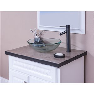Novatto Topia Single Lever Handle Faucet - 12.5-in - Oil Rubbed Bronze