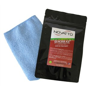 Novatto Falls Bathroom Faucet Set - 1-Handle - 11.5-in - Brushed Nickel