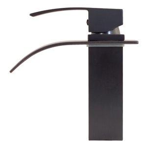 Novatto Remi Single Lever Handle Faucet - 8-in - Oil Rubbed Bronze