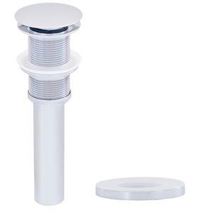 Novatto Falls Single Lever Handle Faucet Set - 11.5-in - Chrome