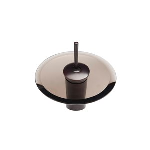 Novatto Refresh Single Lever Handle Faucet - 5.87-in - Oil Rubbed Bronze