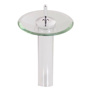 Novatto Topia Single Lever Handle Faucet - 11.5-in - Chrome