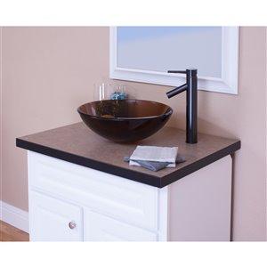 Novatto Dalyss Single Lever Handle Faucet - 12.5-in - Oil Rubbed Bronze