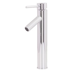 Novatto Dalyss Single Lever Handle Faucet - 12.5-in - Chrome