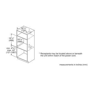 Bosch Island Trim Kit Gas