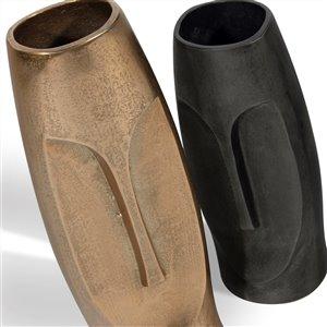 Gild Design House Nohea Large Decorative Metal Vase - Gold - 13-in