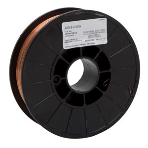 Lincoln Electric S-6 MIG Wire - 0.025-in - 11 lb