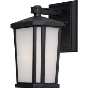 Artcraft Lighting Hampton AC8781BK Outdoor Wall Light - 10.25-in x 10.25-in x 16.25-in - Black