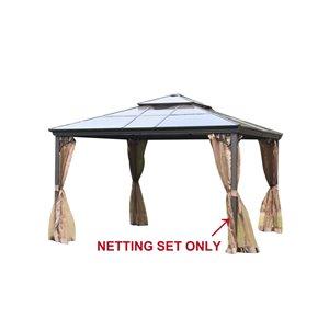 Sunjoy Replacement Mosquito Netting for Sunjoy Gazebo ...