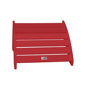 My Custom Sports Chair Foot Stool - 22-in x 24-in - Red