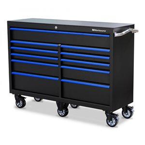 Montezuma Tool Storage Cabinet for Garage 11-Drawer - 56-in x 18-in