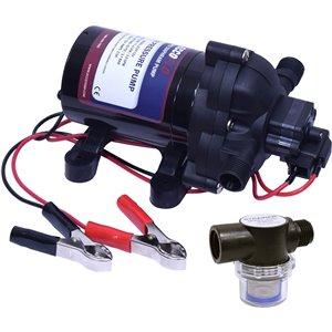 Eccotemp EccoFlo Diaphragm 12V Water Pump & Strainer