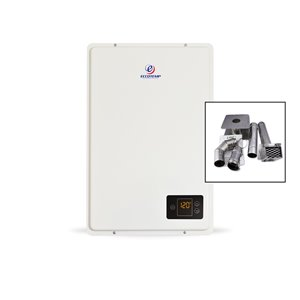 Eccotemp 20HI Indoor NG Tankless Water Heater - w/ 3-in Horizontal Vent Kit